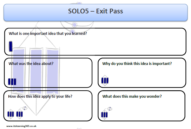 Solo Exit Pass