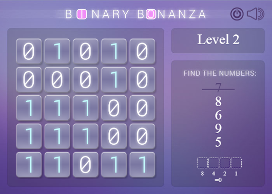 Binary Bonanza